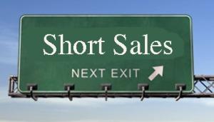 short-sales road sign